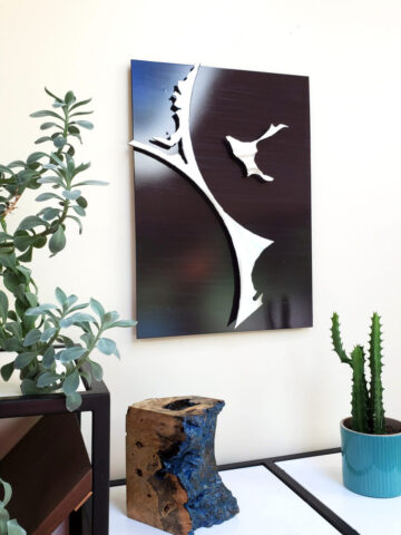 3D Metal Wall Art